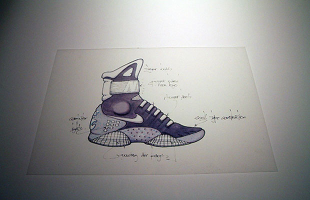 Abstract The Art of Design Tinker Hatfield Nike Mag Concept