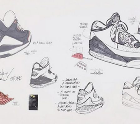 Abstract The Art of Design Tinker Hatfield Nike Air Jordan 3 Concept