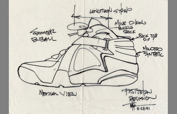 Abstract The Art of Design Tinker Hatfield Nike Air Raid Concept