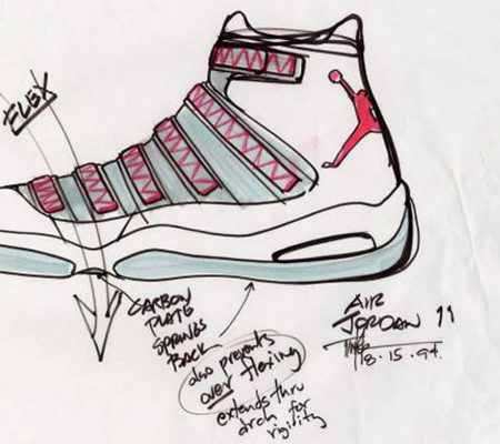 Abstract The Art of Design Tinker Hatfield Nike Air Jordan Concept