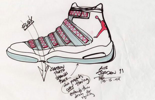 Abstract the art of design tinker hatfield decostore for Schuhschrank jordan design