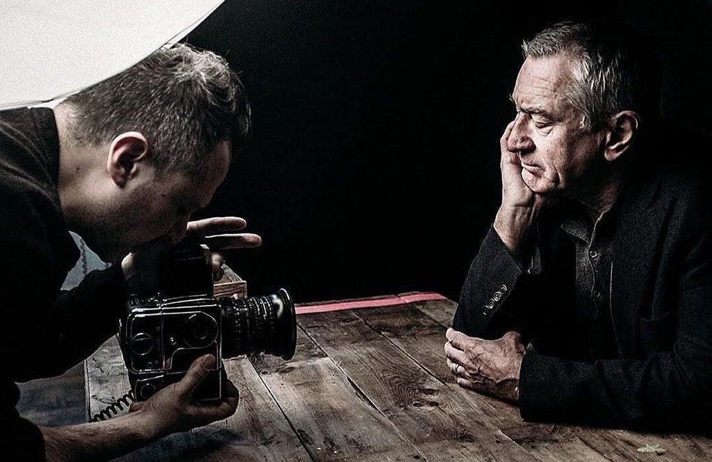 Abstract The Art of Design por Netflix o Fotógrafo Platon Robert de Niro