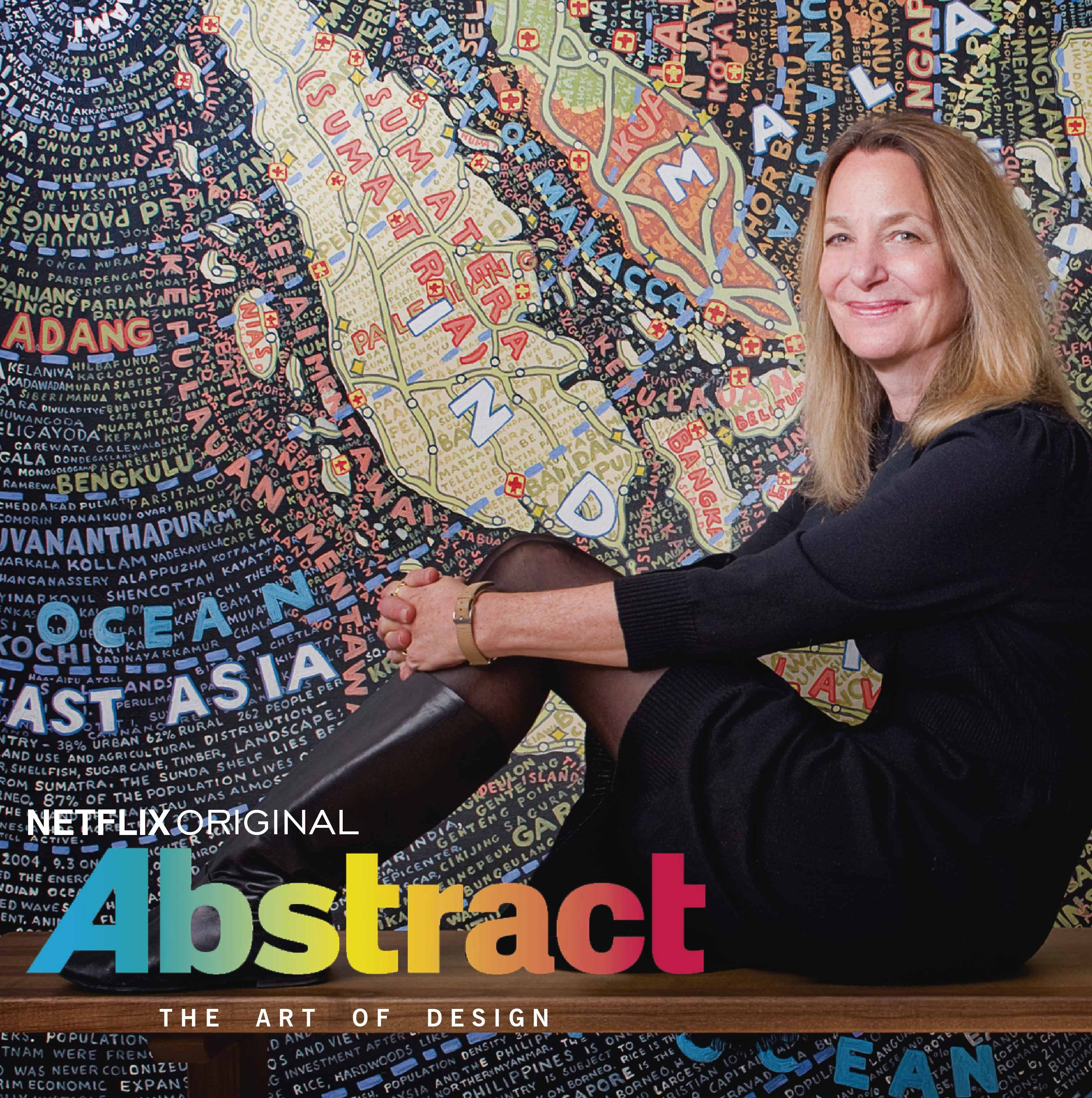 Abstract The Art of Design por Netflix a designer gráfica Paula Scher
