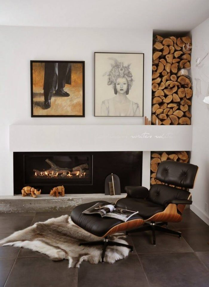 Poltrona Lounge Chair Charles & Ray Eames