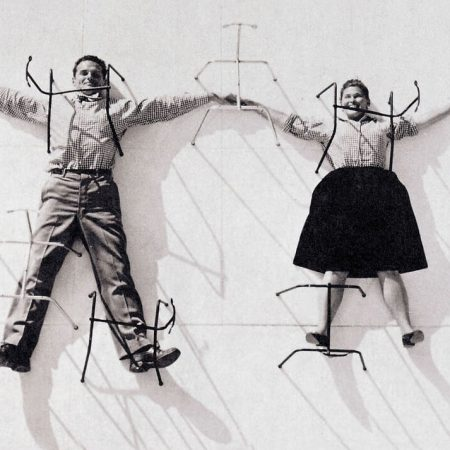 Poltrona Plywood LCM charles and ray eames